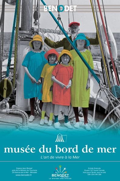 Affiche du Musée du Bord de Mer