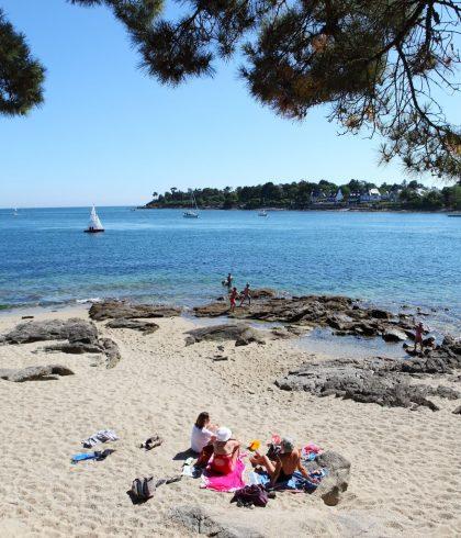 Bénodet détente à la plage