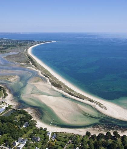Bénodet la lagune du Letty – la mer blanche et la dune de Mousterlin