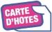 Cliquez sur le logo rose de la carte d'hôtes