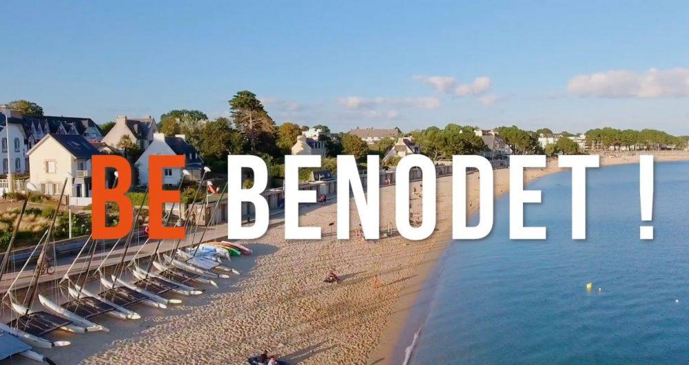 Vue de la plage de Bénodet
