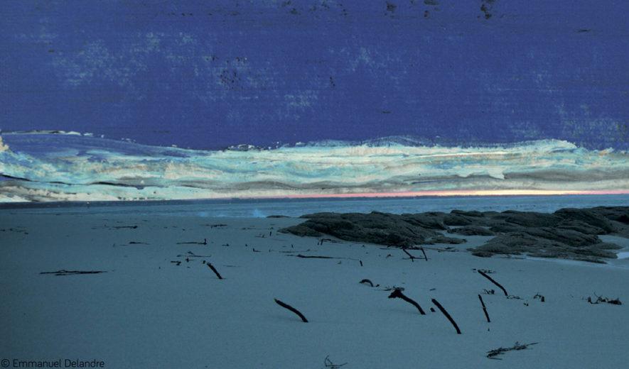 Exposition à l'Archipel : Vers le bleu Emmanuel Delandre