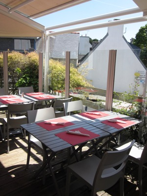 Terrasse – La Mouette Rieuse