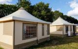 Camping Le Poulmic – bungalow en toile