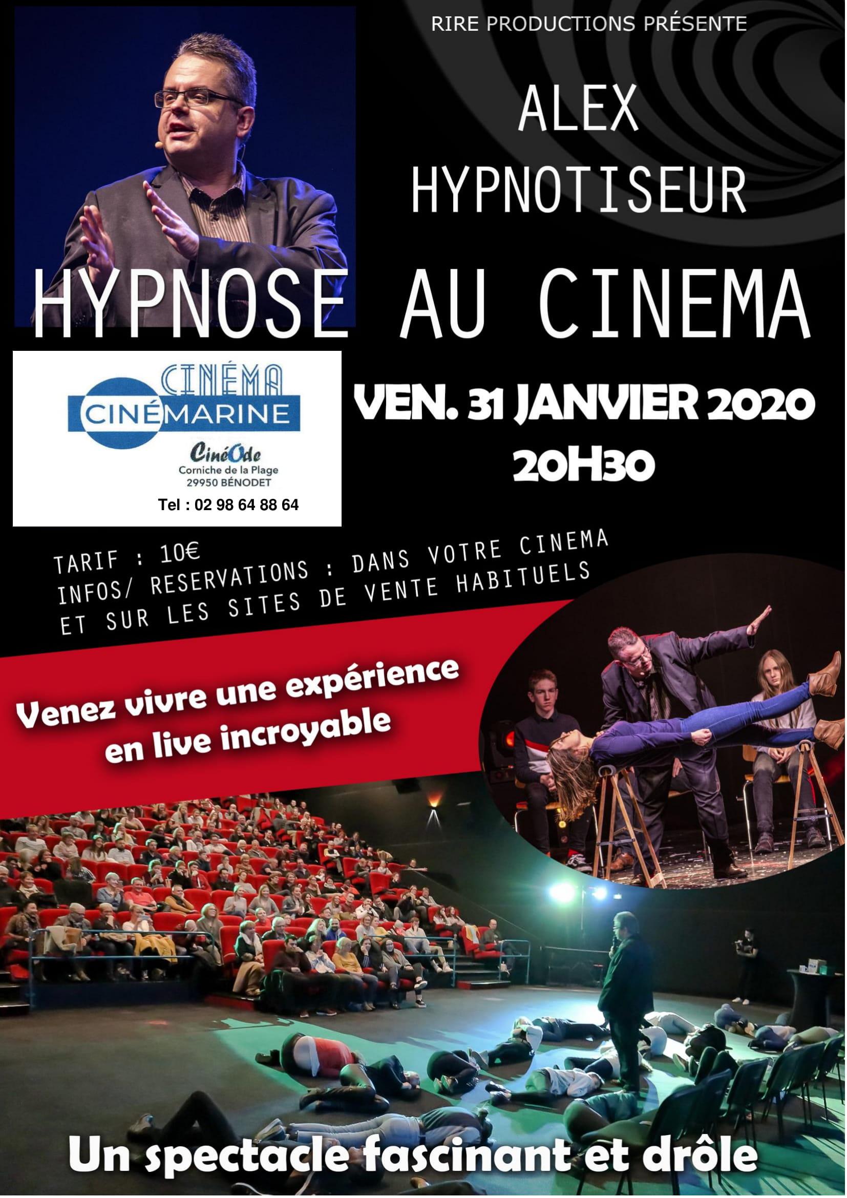 Hypnose au Cinéma